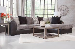 Rent to Own Woodhaven 2-Piece Jamal Chaise Sofa Sectional at .