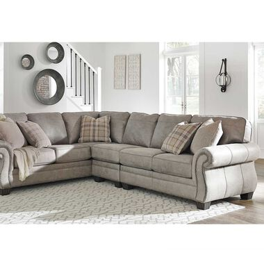 Rent to Own Ashley 3-Piece Olsberg Sectional Living Room .