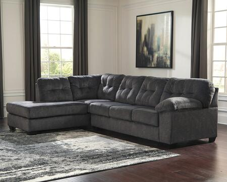 Signature Design by Ashley Accrington Fabric Sectional Sofa .