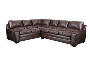 Shop Simmons Upholstery Atlanta Sectional Sofa - Overstock - 224383