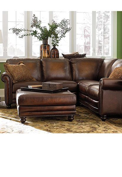 Austin Demens small sectional sofa in leather | Maladot – Home .