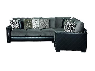 Gigi Sectional Sofa | Badcock &more | Sectional sofa, Sectional .