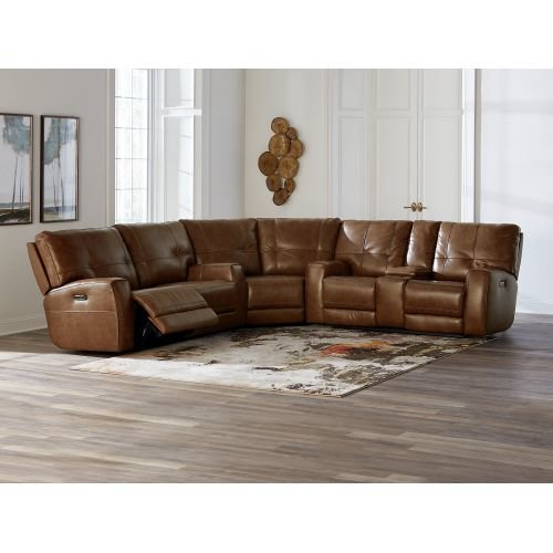 Conway Reclining Sectional Sofa by Basse