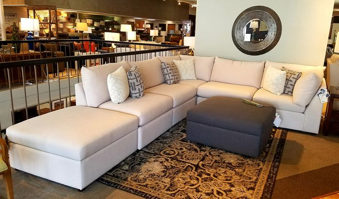 Beckham Sectional Sofa Set by Bassett Furniture - Labor Day Sal