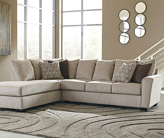 Signature Design by Ashley Ellabury Living Room Sectional | Big Lo