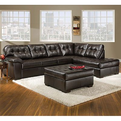 Simmons® Manhattan 2-Piece Sectional | Living room sectional .