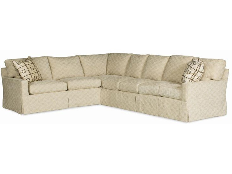 Century Furniture Living Room 2000 Series Sectional 20-Sectional .