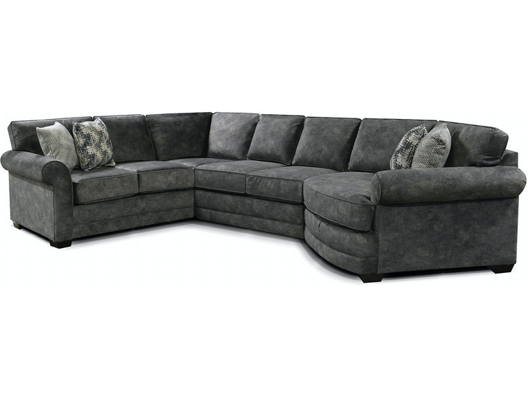 England Living Room Brantley Sectional 5630-Sect - High Point .