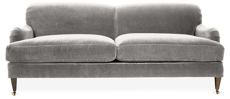 Brampton Sofa, Light Gray Crypton $2,295.00 | Sofa, Chesterfield .