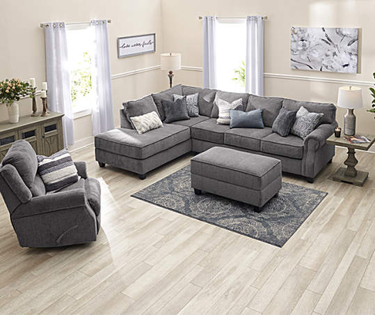 Broyhill Tripoli Living Room Sectional | Big Lo