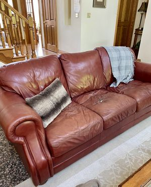 New and Used Leather sofas for Sale in Buffalo, NY - Offer