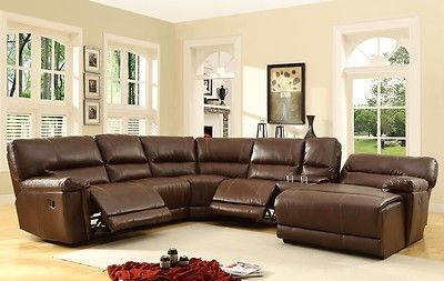 Oversized Ultra Comfy Leather Double 2 Recliner Reclining Sofa .