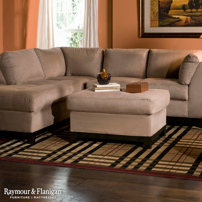 Magnificent microfiber sectional sofa in Living Room Other Metro .
