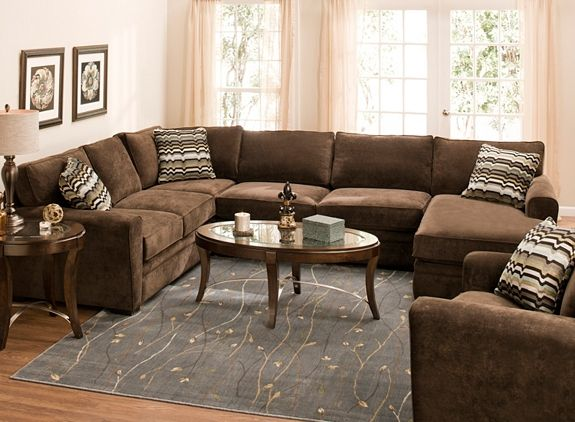 Artemis II 4-pc. Microfiber Sectional Sofa | Microfiber sectional .
