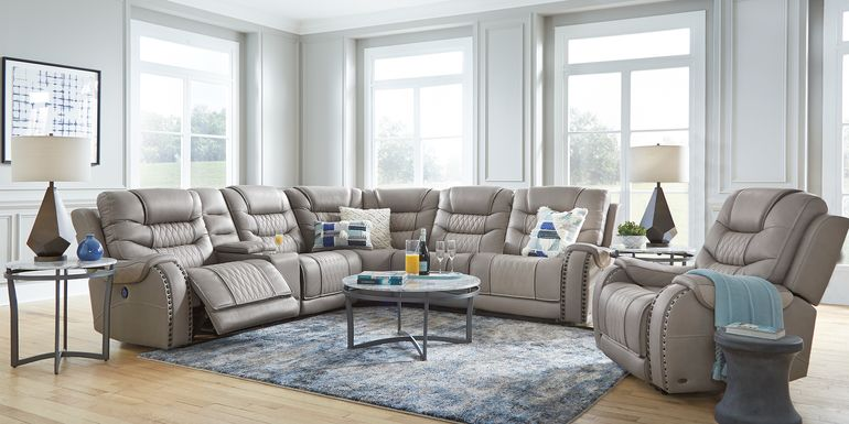 Leather Sectional Sof