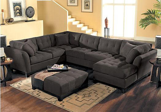 Pin by Tonya Taylor on My new home | Rooms to go sectional, Living .