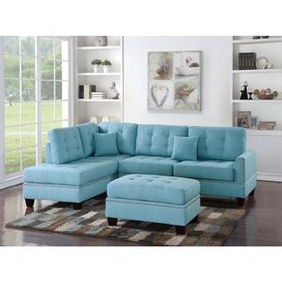 Esofastore 3pc. Living Room Sectional Sofa Set - Sears Marketpla