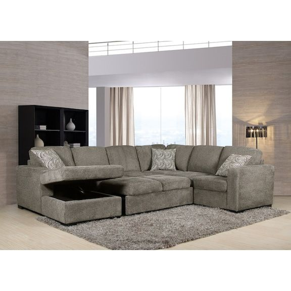 The Brick - Izzy Sofa Bed 2239 | Sectional, Sleeper sectional .