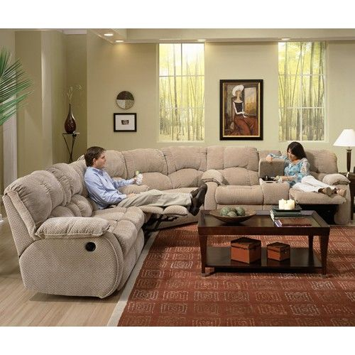 Southern Motion Continental Reclining Sectional - Royal Furniture .