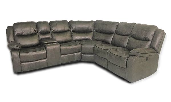 Null   Sectional sofa with recliner, Power recliners, Section