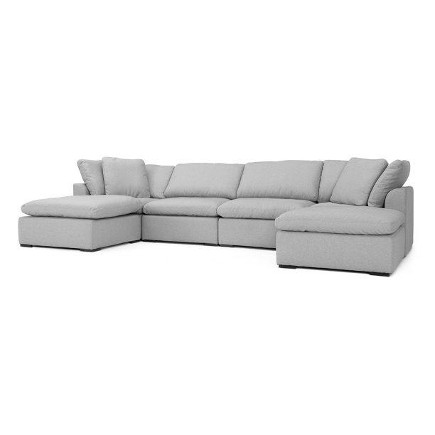 RST Brands Aria 6 Piece Sectional Sofa - Walmart.com - Walmart.c