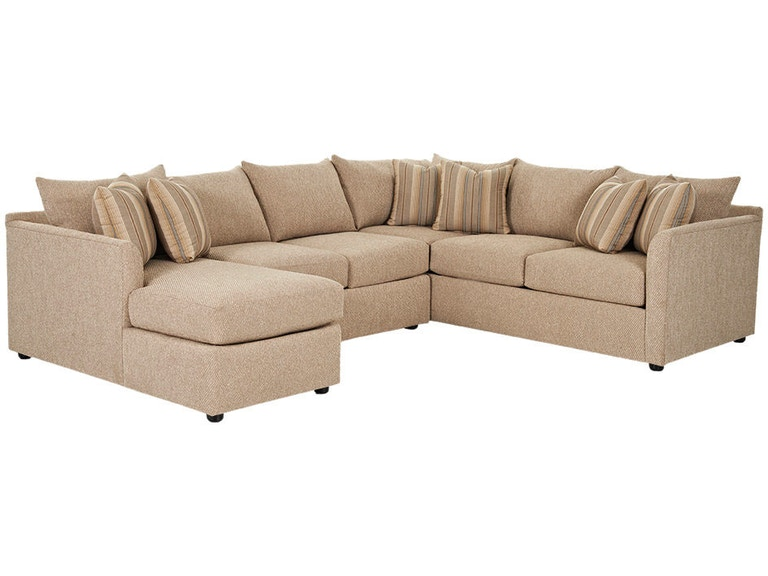 Klaussner Living Room Atlanta K27800 Sectional - Klaussner Home .