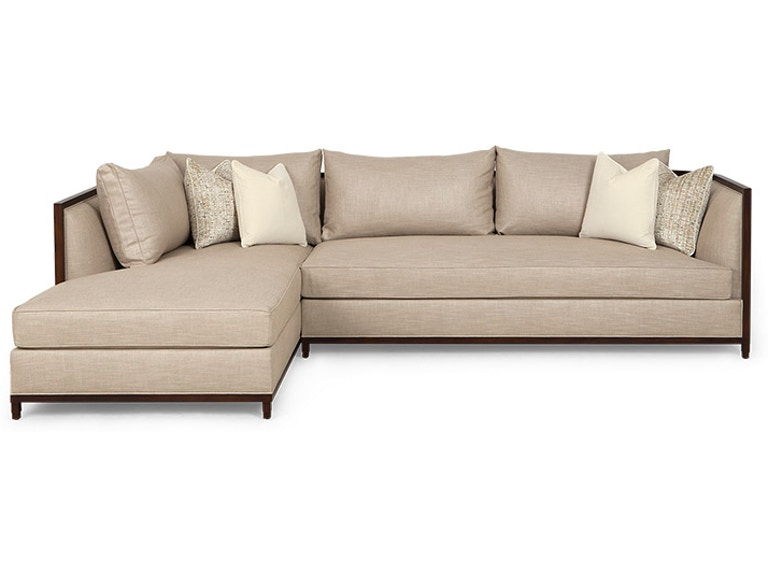 Christopher Guy Living Room Seurat Sectional Sofa 60-0507 - Noel .