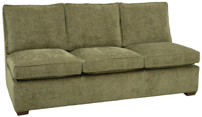 Crawford Sectional Armless Queen Sleeper Sofa Carolina Chair North .
