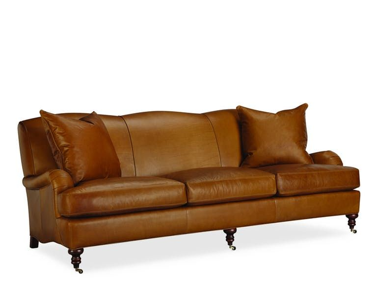 Lee Industries Leather Sofa L3278-03 | Leather sofa, Lee .