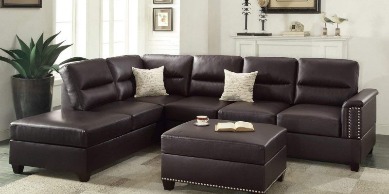 Black Leather Sectional Archives | Best Sofa Revi