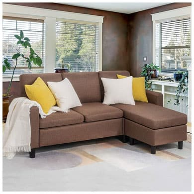 9 Best Cheap Sectional Sofas Under 500, 600 Dollars In 20