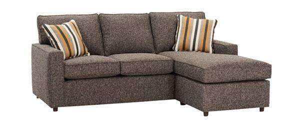 Jennifer Apartment Size Track Arm Reversible Chaise Sectional So