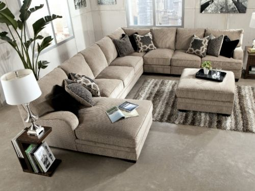 Pin by victoria williams on 4 Home building | Sectional sofa with .