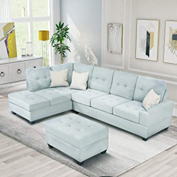 Amazon.com: Sectional Sofas 3-Seat Sofa Sectional Sofa Couches .