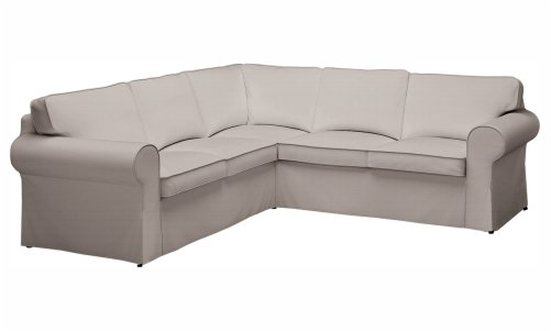 Custom U shaped sectional slipcovers | CURVED Sectional couch cove