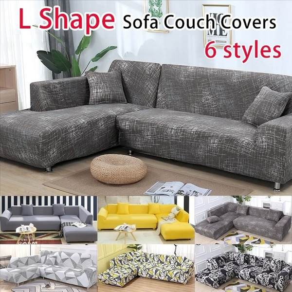 New Comfortable Slipcover Sofa L Shape Sofa Covers Sectional Sofa .