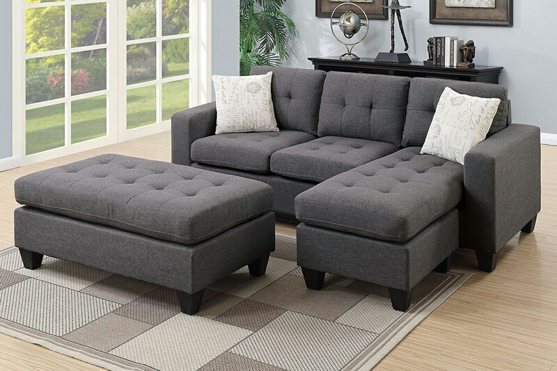Sectional Sofa + Ottoman (F6920) | BB's Furniture Sto