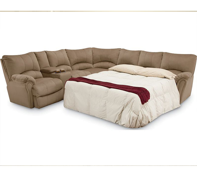 Alpine Reclining Sleeper Sectional 204 | Sofas and Sectiona