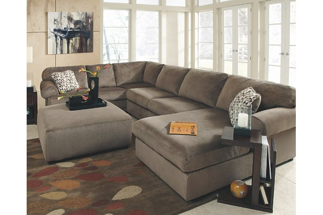 Jessa Place 3-Piece Sectional with Chaise | Ashley Furniture HomeSto