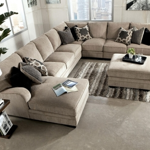 Trend Sectional Sofa With Oversized Ottoman For Your Sofas Large .