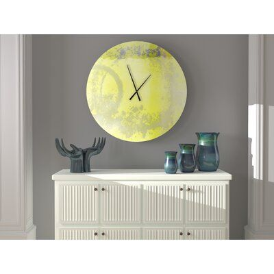 East Urban Home Seiling Wall Clock Size: Small in 2020 | Clock .