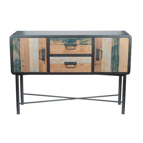 Seiling Sideboard Williston Forge | Wood, Wood, metal, Sideboa