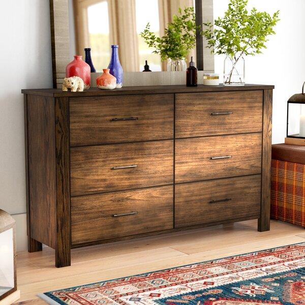 Gracie Oaks Seiling 6 Drawer Double Dresser & Reviews | Wayfa