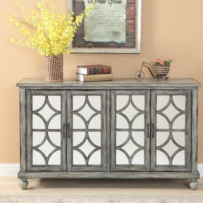 One Allium Way Serafino Media Credenza | Media credenza, Decor .