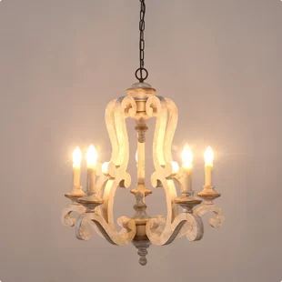 Laurel Foundry Modern Farmhouse Shaylee 5-Light Candle Style .