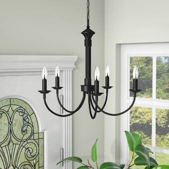 Laurel Foundry Modern Farmhouse Shaylee 6 - Light Candle Style .