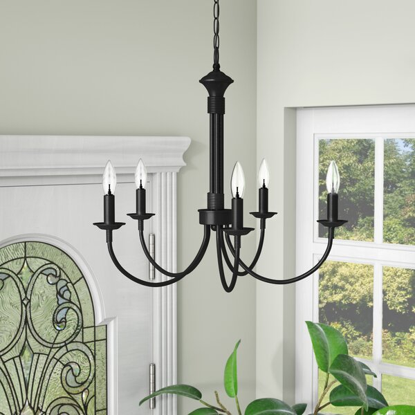 Laurel Foundry Modern Farmhouse Shaylee 5 - Light Candle Style .