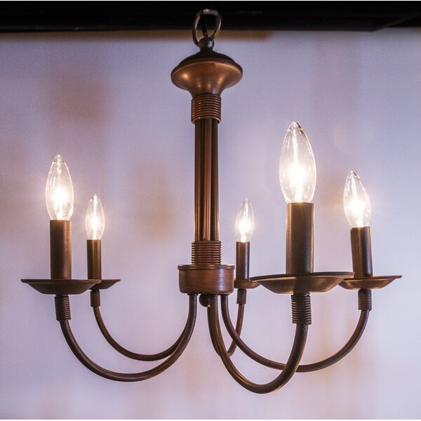 Shaylee 5-Light Candle Style Classic / Traditional Chandelier .