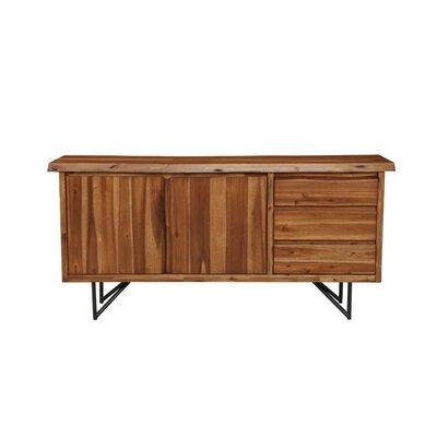 Foundry Select Foundry Select Boulder Creek Solid Acacia Sideboard .