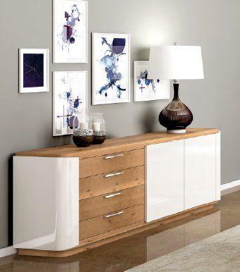 Ebern Designs Sideboard | Sideboard, Vintage sideboard, Adjustable .